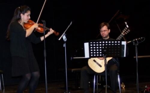 Studierende der Hochschule für Musik gestalteten den Abend